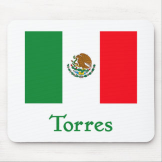 Torres Mexican Flag Mousepad