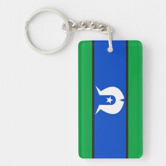 Torres Strait Islander country flag nation symbol Keychain