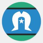 torresstrait islanders, Australia Classic Round Sticker