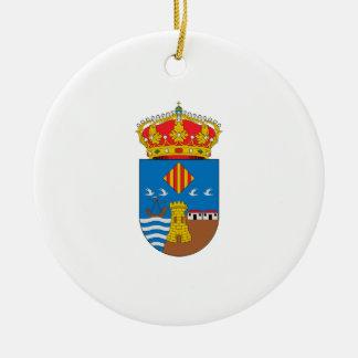 Torrevieja (Spain) Coat of Arms Ceramic Ornament