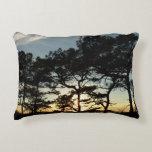 Torrey Pine Sunset II California Landscape Accent Pillow