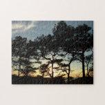 Torrey Pine Sunset II California Landscape Jigsaw Puzzle