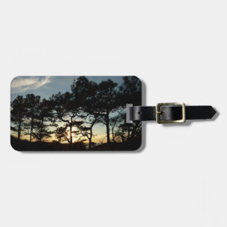 Torrey Pine Sunset II California Landscape Luggage Tag