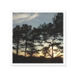 Torrey Pine Sunset II California Landscape Paper Napkin