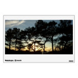 Torrey Pine Sunset II California Landscape Wall Sticker