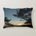 Torrey Pine Sunset III California Landscape Accent Pillow