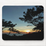 Torrey Pine Sunset III California Landscape Mouse Pad
