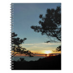 Torrey Pine Sunset III California Landscape Notebook