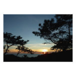 Torrey Pine Sunset III California Landscape Photo Print