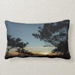 Torrey Pine Sunset III California Landscape Throw Pillow
