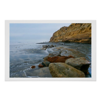 Torrey Pines Beach Poster