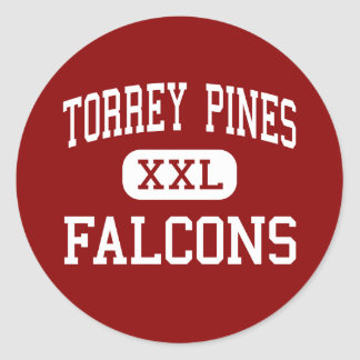 Torrey Pines - Falcons - High - Encinitas Classic Round Sticker