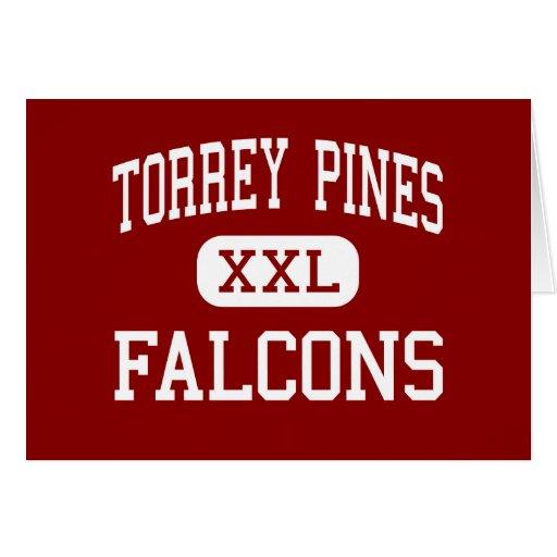 Torrey Pines - Falcons - High - Encinitas Greeting Card