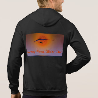 Torrey Pines Glider Club Hoodie with Sunset Image