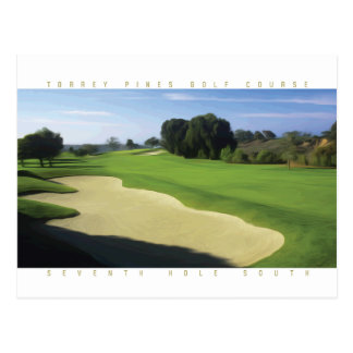 Torrey Pines South #7 postcard