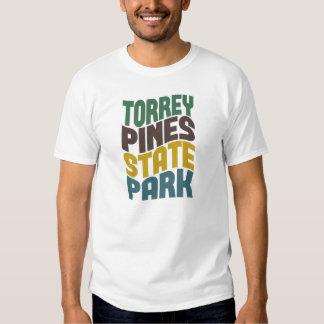 Torrey Pines State Park Retro Wave Shirt