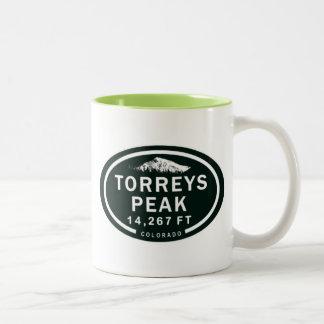 Torreys Peak 14,267 FT CO 14er Mountain Mug