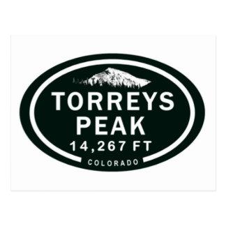 Torreys Peak 14,267 FT CO 14er Mountain Postcard