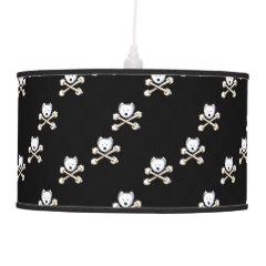 Torrid Westie Crossbones Lamp