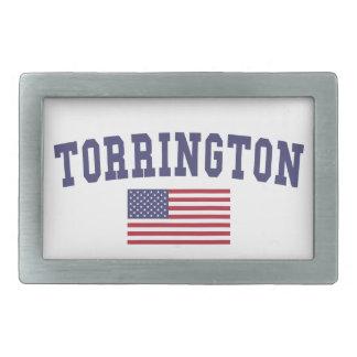 Torrington US Flag Belt Buckle
