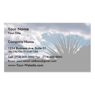 Torry yucca business card template