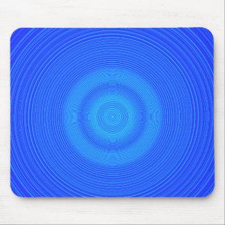 Torsión azul Mousepad