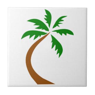 torsión curvada palmera del coco azulejos