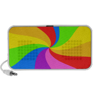 Torsión del arco iris sistema de altavoz