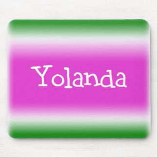 Torsión del chicloso: Yolanda Mousepad