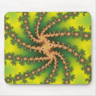 Torsión del cielo - fractal Mousepad