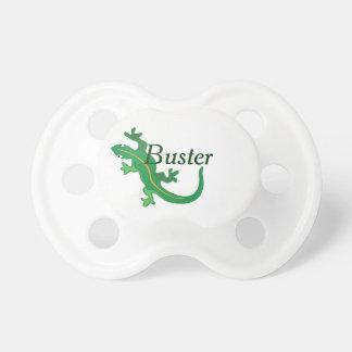 Torsión del lagarto verde chupete