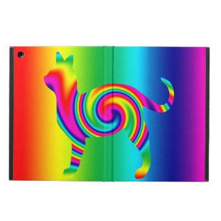 Torsión formada gato del arco iris