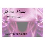 Torsión rosada plantillas de tarjetas de visita