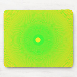 Torsión verde Mousepad