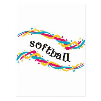 Torsiones del softball postal