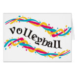 Torsiones del voleibol felicitaciones