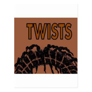 torsiones tarjetas postales