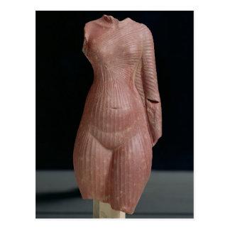 Torso femenino, probablemente reina Nefertiti Postales