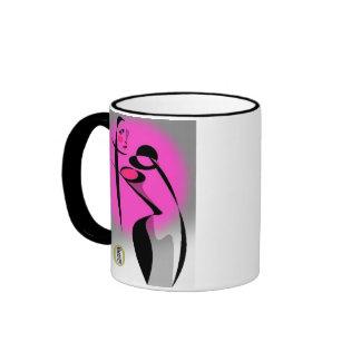 Torso (for Lefties!) Ringer Mug
