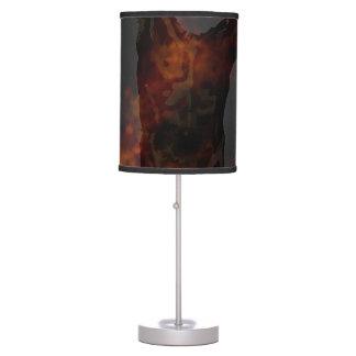 Torso masculino lámpara de escritorio