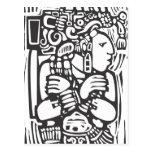 Torso maya postal