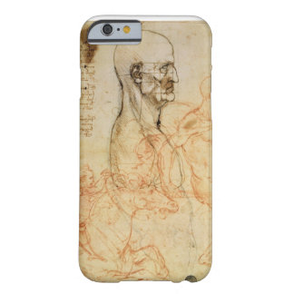 Torso of a Man in Profile, the Head Squared for Pr iPhone 6 Case