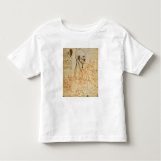 Torso of a Man in Profile, the Head Squared for Pr Tshirt