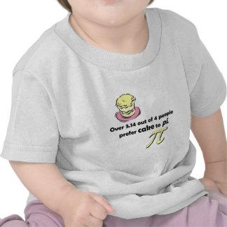 Torta a la camiseta infantil del pi