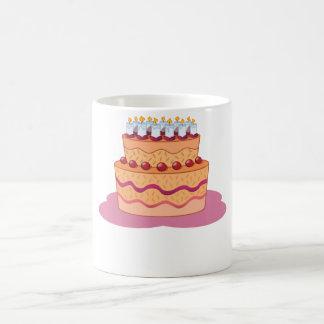 Torta acodada taza mágica