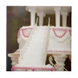 Torta blanca teja  ceramica