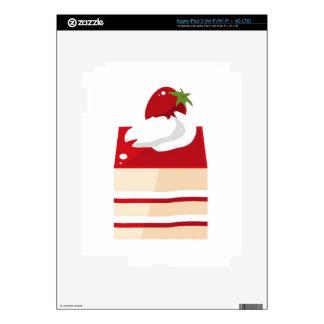 Torta con la fresa iPad 3 skin