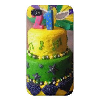 Torta de 21 carnaval iPhone 4 carcasas