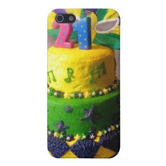 Torta de 21 carnaval iPhone 5 carcasas