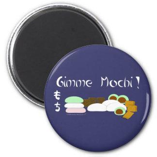 Torta de arroz pegajoso de Gimme Mochi Imán Redondo 5 Cm